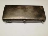Старинная женская сумочка.Серебро 198 гр.84 проба. photo 2