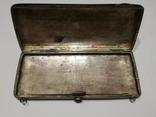 Старинная женская сумочка.Серебро 198 гр.84 проба. photo 3