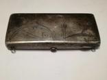 Старинная женская сумочка.Серебро 198 гр.84 проба. photo 4