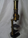 Старинный микроскоп с футляром photo 4