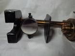 Старинный микроскоп с футляром photo 5