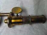Старинный микроскоп с футляром photo 6