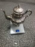 Срібний чайно-кофейний набір 4-предмети 925пр. -2945грм. photo 3
