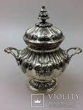 Срібний чайно-кофейний набір 4-предмети 925пр. -2945грм. photo 13