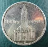 5 рейхсмарок 1934 A Кирха с надписью