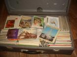 Открытки, карточки, более 2000 шт. ( 1950-80 гг.)