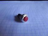 Кнопка круглая , без фиксации малая 2 pin ( для пин - поинта ) производства BOSH