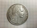 1 талер 1871 Людвиг II Бавария Победа над Франциейц