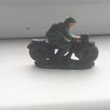 Солдатик мотоциклист(30-40 годы)