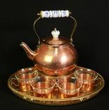 Чайный набор на 4 персоны. Европа. (0366)