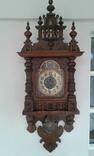 Старые настенные часы Junghans