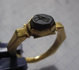 Римский золотой перстень,гемма photo 3