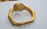Римский золотой перстень,гемма photo 6