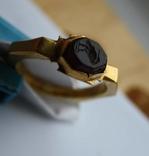 Римский золотой перстень,гемма photo 10