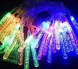 Гирлянда LED - сосульки, 28 диодов.