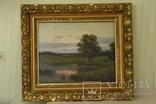 *Утром около пруда* Крыжицкий К. Я (1858 – 1911)