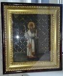 Св. чудотворец Василий Великий. 41 х 46см. photo 4