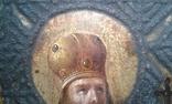 Св. чудотворец Василий Великий. 41 х 46см. photo 7