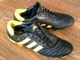 Adidas - фирменные футбольные кожанные копы размер стельки 26.5 см.