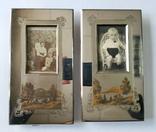 Оригинальные рамки для фото Златоуст (с фотографиями). Позолота. 2 шт одним лотом. photo 1