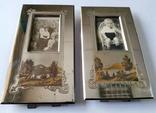 Оригинальные рамки для фото Златоуст (с фотографиями). Позолота. 2 шт одним лотом. photo 2