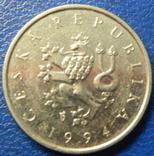 1 крона Чехія 1994, фото №3