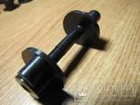Крепежный винт катушки к штанге 6 мм с гайкой.(Minelab, X-terra 705 и др)