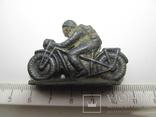 Мотоциклист. Солдатик СССР. 1947 г. Оригинал. photo 1