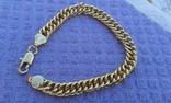 Стильный Мужской браслет ( 18 К ) Длинна 21 см photo 1