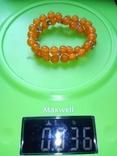 Браслет из янтаря, 15 грамм. photo 5