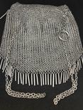Серебреная театральная сумочка - кольчужка photo 5