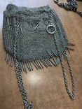 Серебреная театральная сумочка - кольчужка photo 9