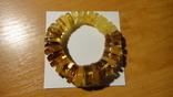 Браслет натуральный янтарь 38 грамм photo 1