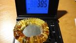 Браслет натуральный янтарь 38 грамм photo 2