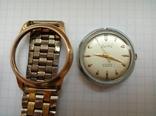 Часы Creation Швейцария 50х годов позолоченные photo 2
