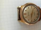 Часы Creation Швейцария 50х годов позолоченные photo 7