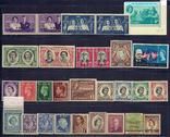 Почтовые марки Британия колонии