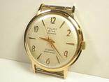 """Часы """"Poljot de luxе"""" позолота АУ20 (2) photo 2"""