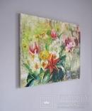 """""""Цветы на кухонном окне"""" 60х50 см. photo 2"""
