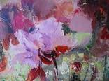 """""""Цветы на кухонном окне"""" 60х50 см. photo 4"""