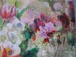 """""""Цветы на кухонном окне"""" 60х50 см. photo 6"""