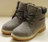 0117 Мужские ботинке Soyota на шнурках, цвет серый. Эко Нубук 41 размер 26.5 см стелька