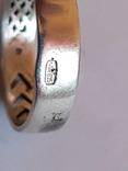 Колько СССР серебро 875 проба, камень., фото №7