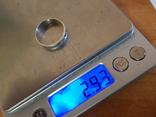 Колько СССР серебро 875 проба, камень., фото №9