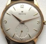 Золотые часы Zenith 18K photo 4