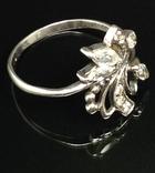Кольцо, серьги, цирконы, фото №8