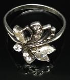 Кольцо, серьги, цирконы, фото №9