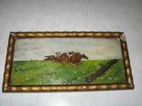 """Картина """" Скачки"""" є підпис 1915 рік photo 1"""