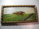 """Картина """" Скачки"""" є підпис 1915 рік photo 2"""