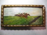 """Картина """" Скачки"""" є підпис 1915 рік photo 5"""